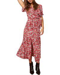 MINKPINK - Wild Flowers Midi Dress - Lyst