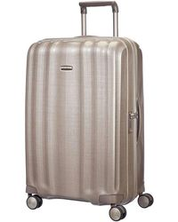 Samsonite - Litecube 76cm Spinner Champange Suitcase - Lyst