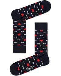 Happy Socks - Key To My Heart Sock - Lyst