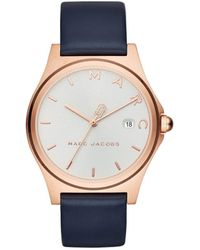 Marc By Marc Jacobs - Henry Blue Watch - Lyst