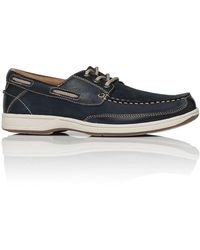 Florsheim - Florida Leather Boat Show W/ Rubber Sole - Lyst