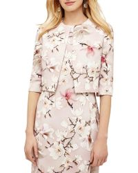 Phase Eight - Odette Floral Jacket - Lyst