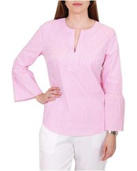 Wite - Candy Stripe Blouse - Lyst