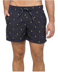 """Tommy Hilfiger - Pineapple 6.5"""" Swim Trunks, Created For Macy's - Lyst"""
