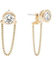 Michael Kors - Brilliance Gold Earring - Lyst