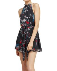 Keepsake - Paperthin Playsuit - Lyst
