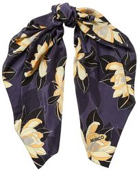 Mimco - Floating Lotus Scarf - Lyst
