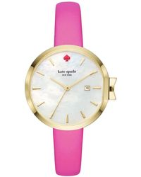 Kate Spade - Park Row Pink Watch - Lyst