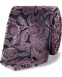 Ted Baker - Detailed Floral Tie - Lyst