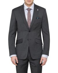 Ted Baker - 2b Sb Sv Wool Pinhead Jacket - Lyst