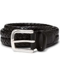 Fossil - Maddox Belt Leather - Lyst