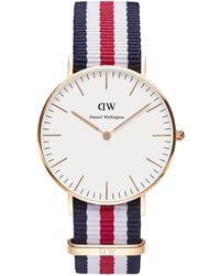 Daniel Wellington - Classic Canterbury 36mm Rose Gold - Lyst