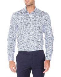 Ben Sherman - Ls Floral Kings Fit Shirt - Lyst