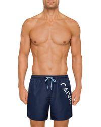 Calvin Klein - Medium Drawstring Swim Short - Lyst