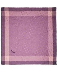 COACH - Rose Foil Windowpane Challis - Lyst