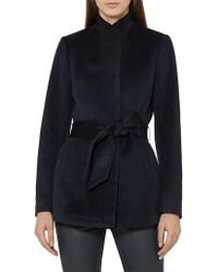 Reiss - Reema-belted Jacket - Lyst