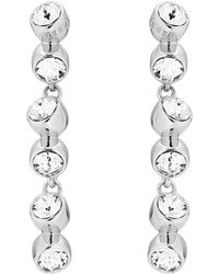 Ted Baker - Crystal Tumble Drop Earring - Lyst