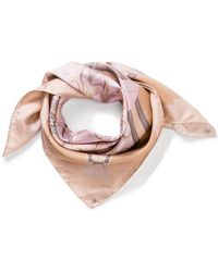 Aspinal of London - Colour Blocked Signature Scarf - Lyst