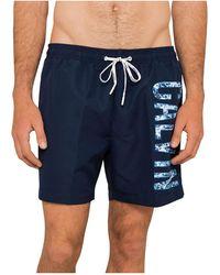 Calvin Klein - Intense Power Plus Medium Drawstring Swim Short - Lyst
