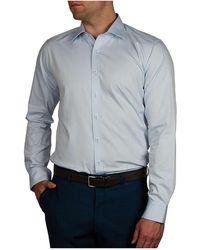 Geoffrey Beene - Drugstore Dobby Body Fit Shirt - Lyst