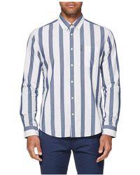 Ben Sherman - Large Stripe Mod Shirt - Lyst