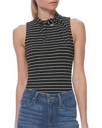 PAIGE - Sparrow Stripe Bodysuit - Lyst