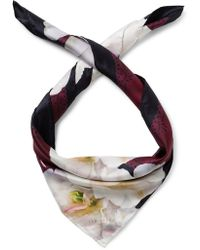Ted Baker - Gardinia Square Scarf - Lyst