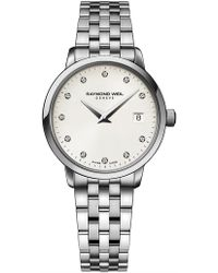 Raymond Weil - Toccata Quarts Watch With Diamonds - Lyst