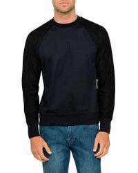 PS by Paul Smith - Colour Block Raglan Sweatshirt - Lyst