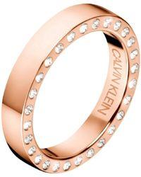Calvin Klein - Hook Ring - Lyst