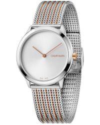 Calvin Klein - Minimal Watch - Lyst