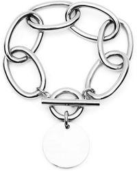 Amber Sceats - Ziggy Silver Bracelet - Lyst