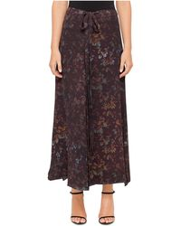 Josh Goot - Layered Georgette Split Skirt - Lyst