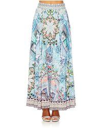 Camilla - Lovers Retreat Circle Skirt. - Lyst