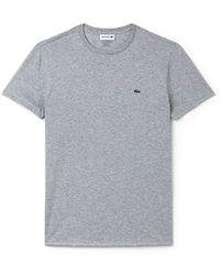 Lacoste - Crew Neck Short Sleeve T-shirt - Lyst