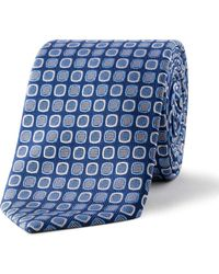 Eton of Sweden - Retro Geometric Tie - Lyst