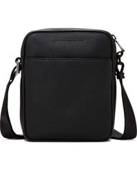 Emporio Armani | Linea Luxor Pebbled Leather N/s Bag | Lyst