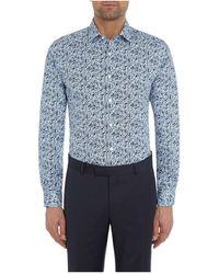 Richard James - Floral Print Shirt - Lyst