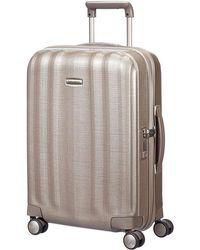 Samsonite - Litecube 55cm Spinner Champange Suitcase - Lyst