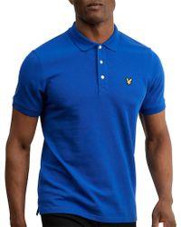 Lyle & Scott - Plain Polo Shirt - Lyst