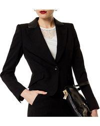 Karen Millen - Tailored Boxy Blazer - Lyst