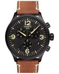 Tissot - Chrono Xl Quartz Watch - Lyst