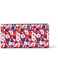 Michael Kors - Jet Set Carnation Slim Wallet - Lyst