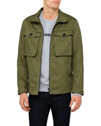 G-Star RAW - Type C Zip Utility Overshirt - Lyst