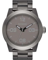 Nixon - Men's Corporal Stainless Steel Watch - Lyst