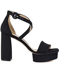Stuart Weitzman - Carla Luxe Platform Sandal - Lyst