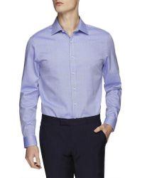 Ben Sherman - Ls Herringbone Kings Fit Shirt - Lyst