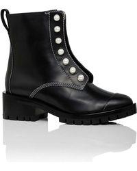 3.1 Phillip Lim - Hayett Pearl Zipper Boot - Lyst