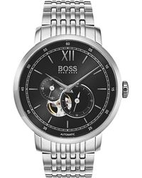 BOSS Black - Gents Signature Timepiece Collection Mech-automatic Ss Rnd - Lyst