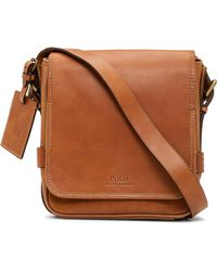 Polo Ralph Lauren | Smooth Leather Reporter Bag | Lyst